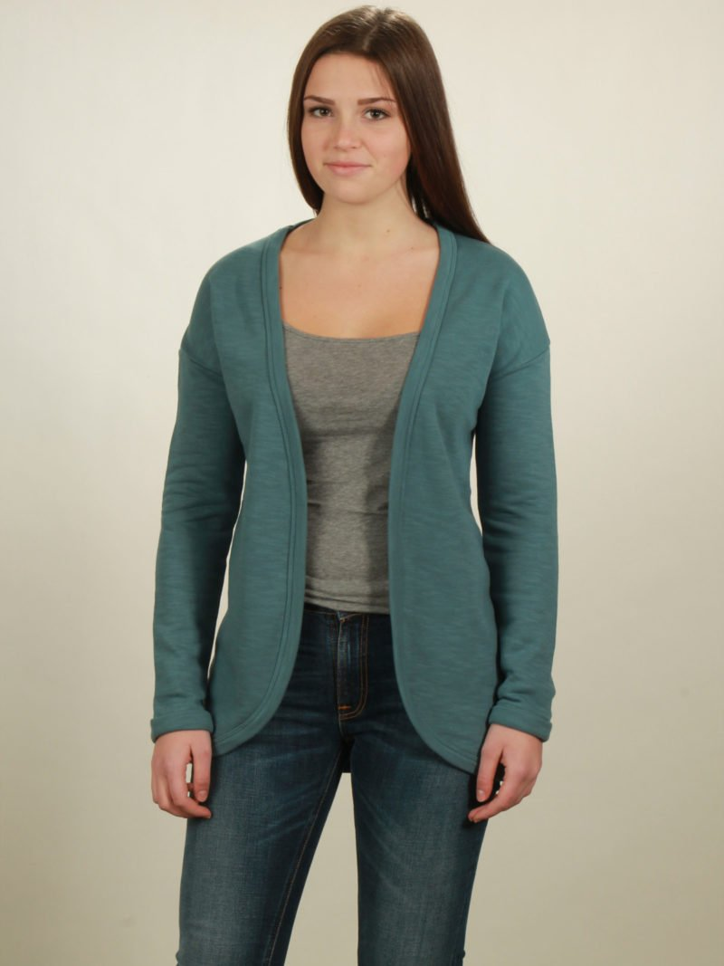 2009 cardigan light turquoise
