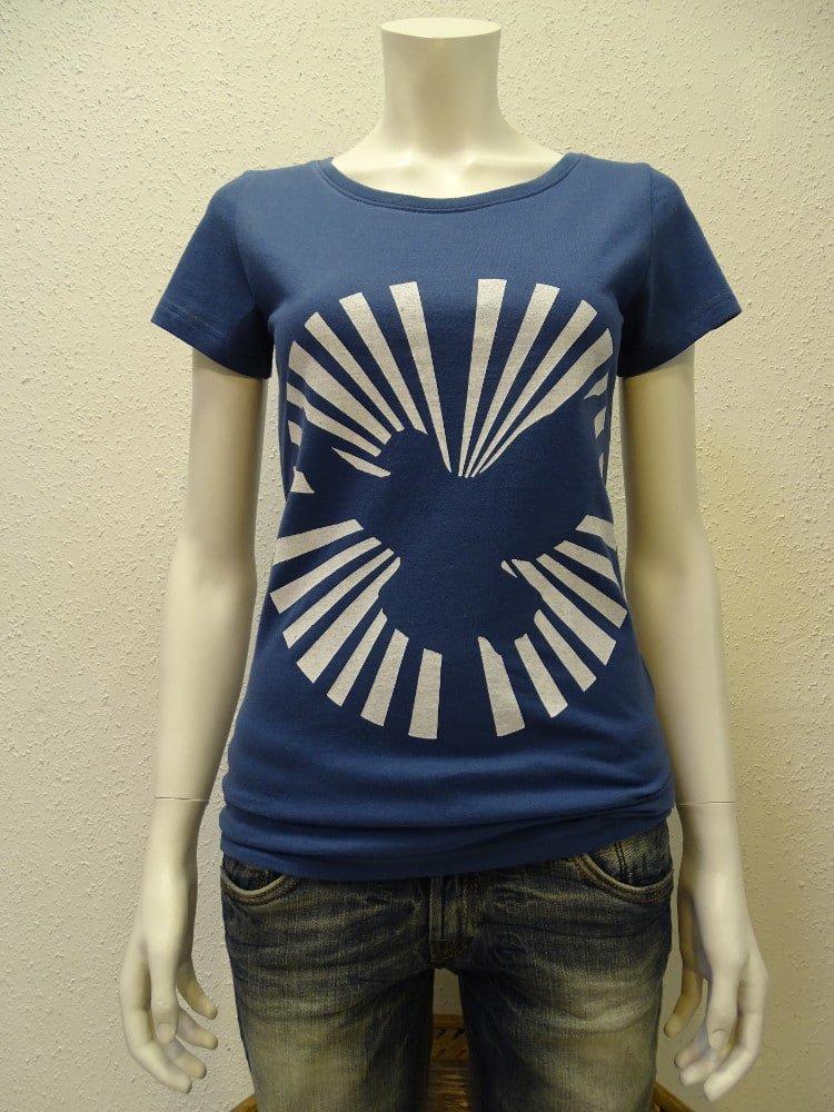 Damen T-Shirt Dove Sun - dark blue - NATIVE SOULS