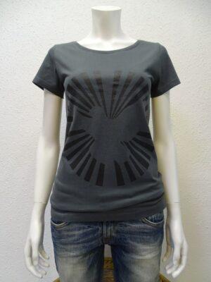 Damen T-Shirt Dove Sun - dark grey - NATIVE SOULS