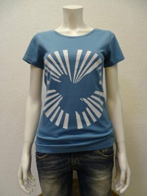Damen T-Shirt Dove Sun - light blue - NATIVE SOULS