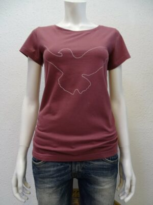 Damen T-Shirt Dove - berry - NATIVE SOULS