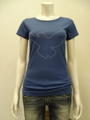 Damen T-Shirt Dove - dark blue - NATIVE SOULS
