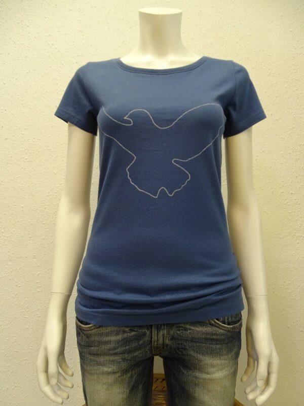 Damen T-Shirt Dove - dark blue - NATIVE SOULS