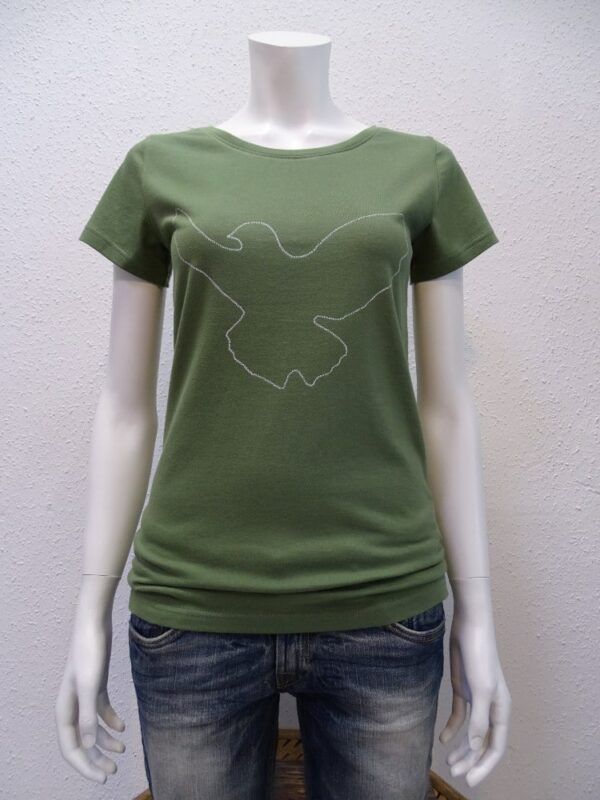 Damen T-Shirt Dove - green - NATIVE SOULS