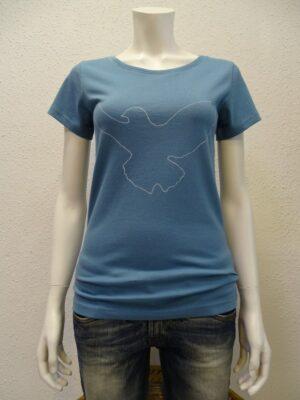 Damen T-Shirt Dove - light blue - NATIVE SOULS