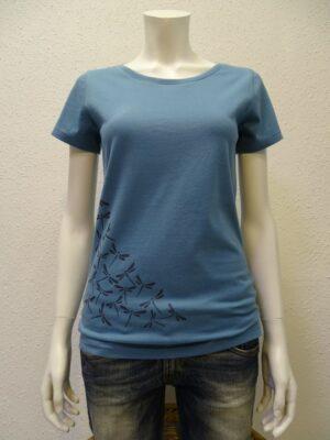 Damen T-Shirt Dragonfly - light blue - NATIVE SOULS