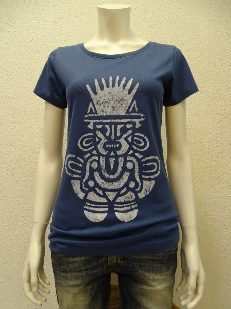 Damen T-Shirt Inka - dark blue - NATIVE SOULS