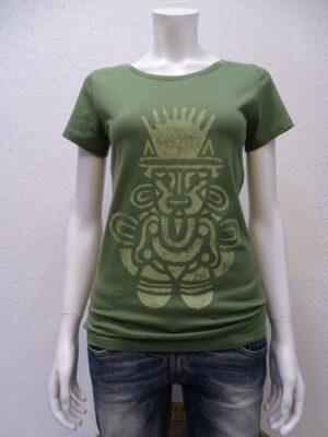 Damen T-Shirt Inka - green - NATIVE SOULS