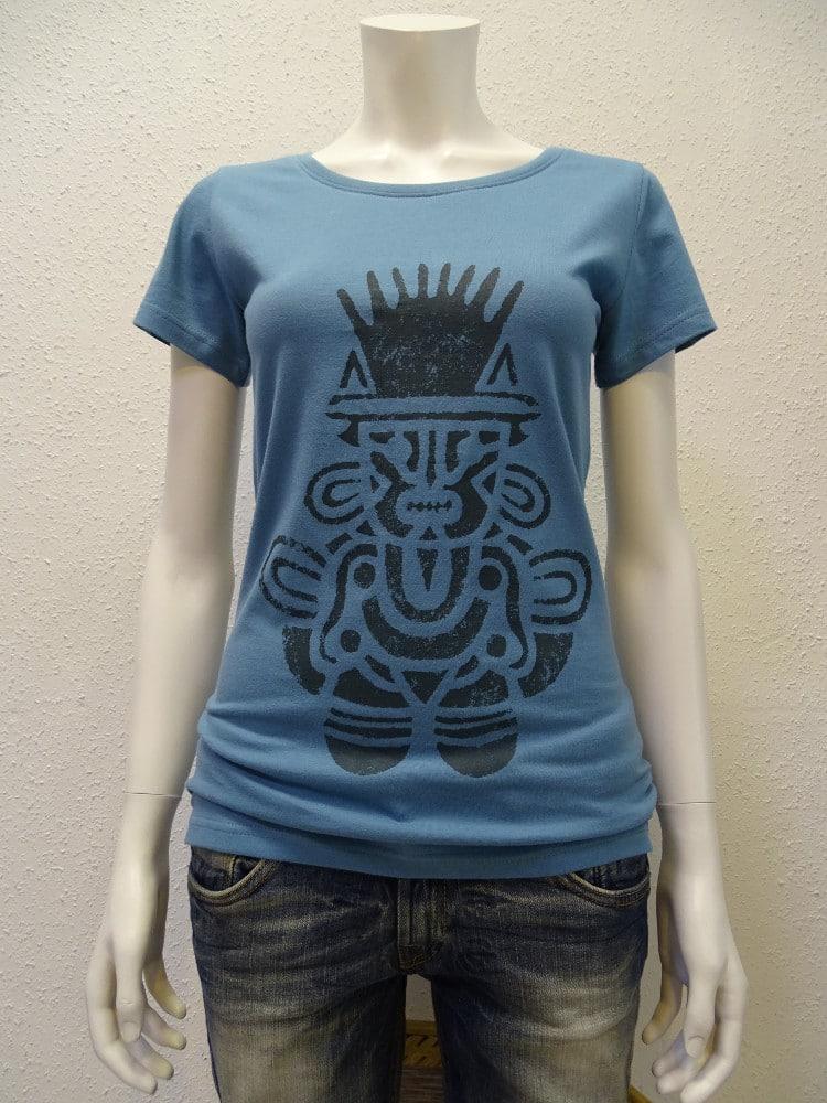Damen T-Shirt Inka - light blue - NATIVE SOULS