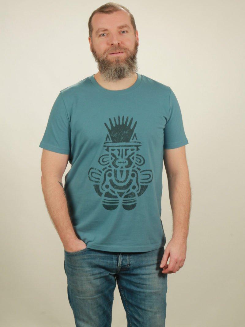 Herren-T-Shirt Inka - light blue - NATIVE SOULS