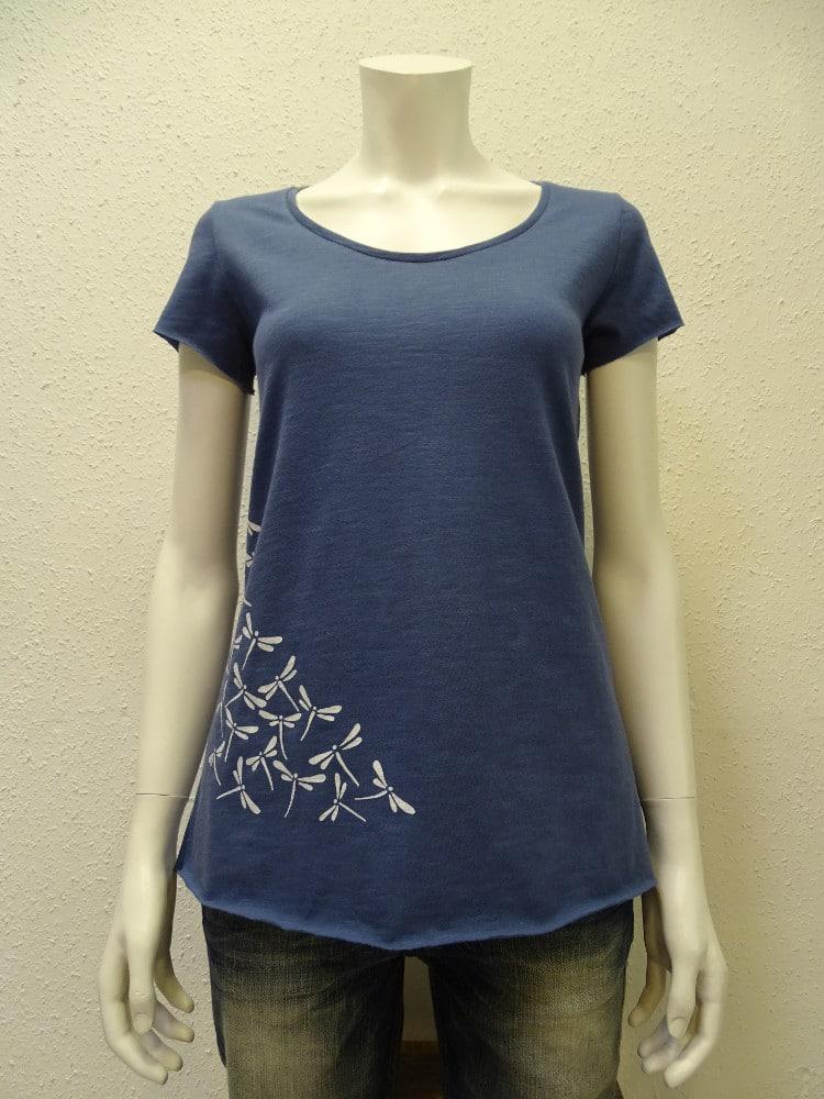 Slub-T-Shirt Damen Dragonfly, dark blue, von NATIVE SOULS