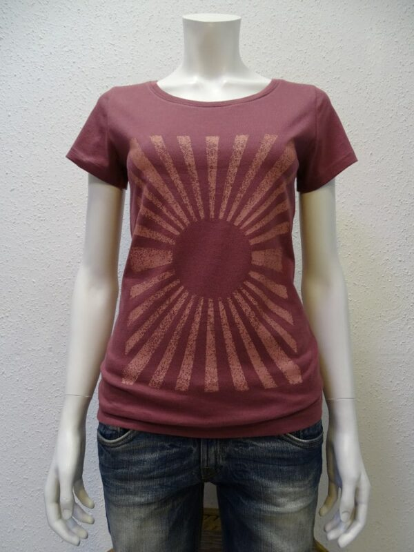 Damen T-Shirt Sun - berry - NATIVE SOULS