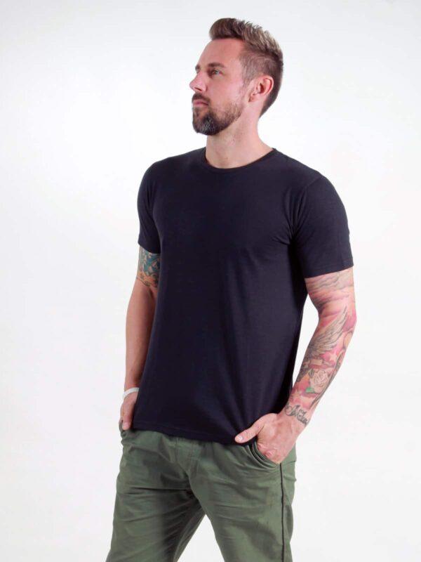Basic T-Shirt Man black