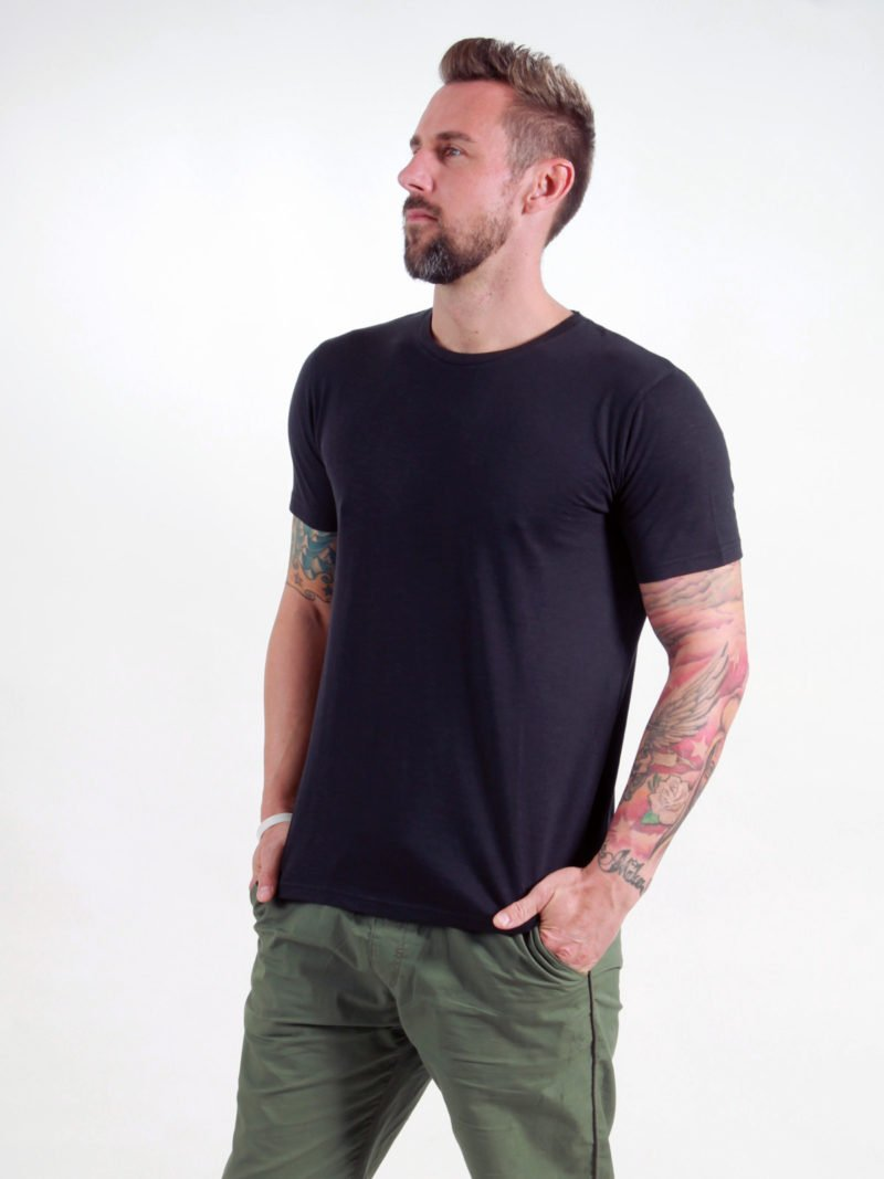 Basic T-Shirt Man black