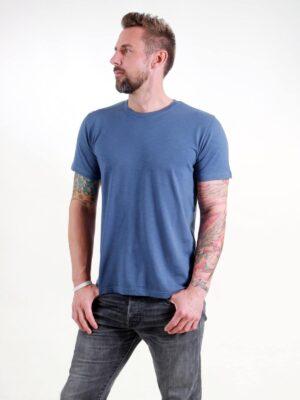 Basic T-Shirt Man dark blue