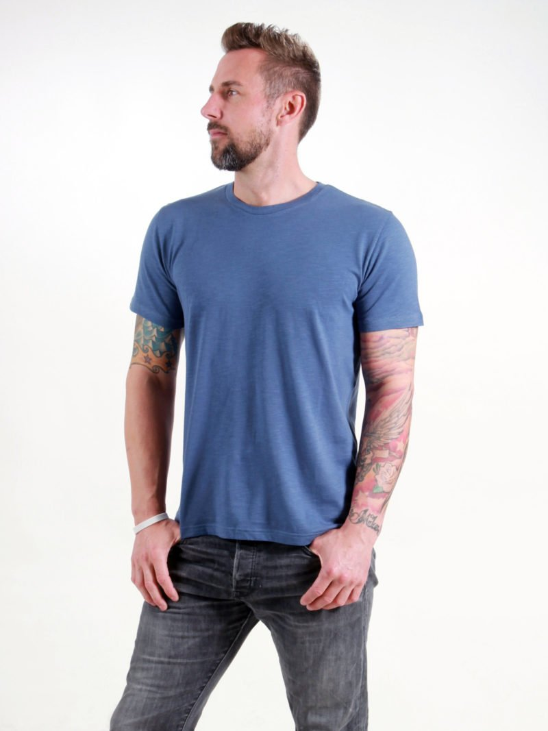 Basic T-Shirt Man dark blue