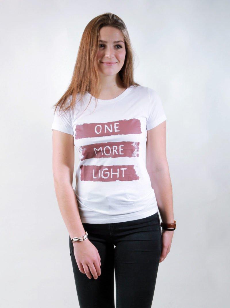 T-Shirt Damen Light white