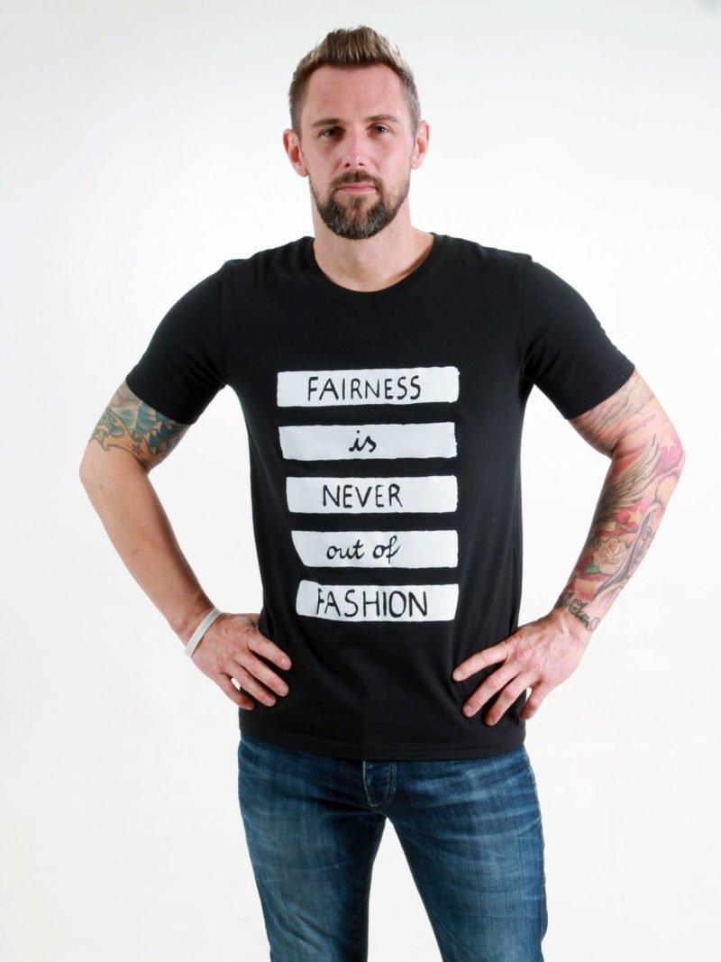 T-Shirt Man Fairness black