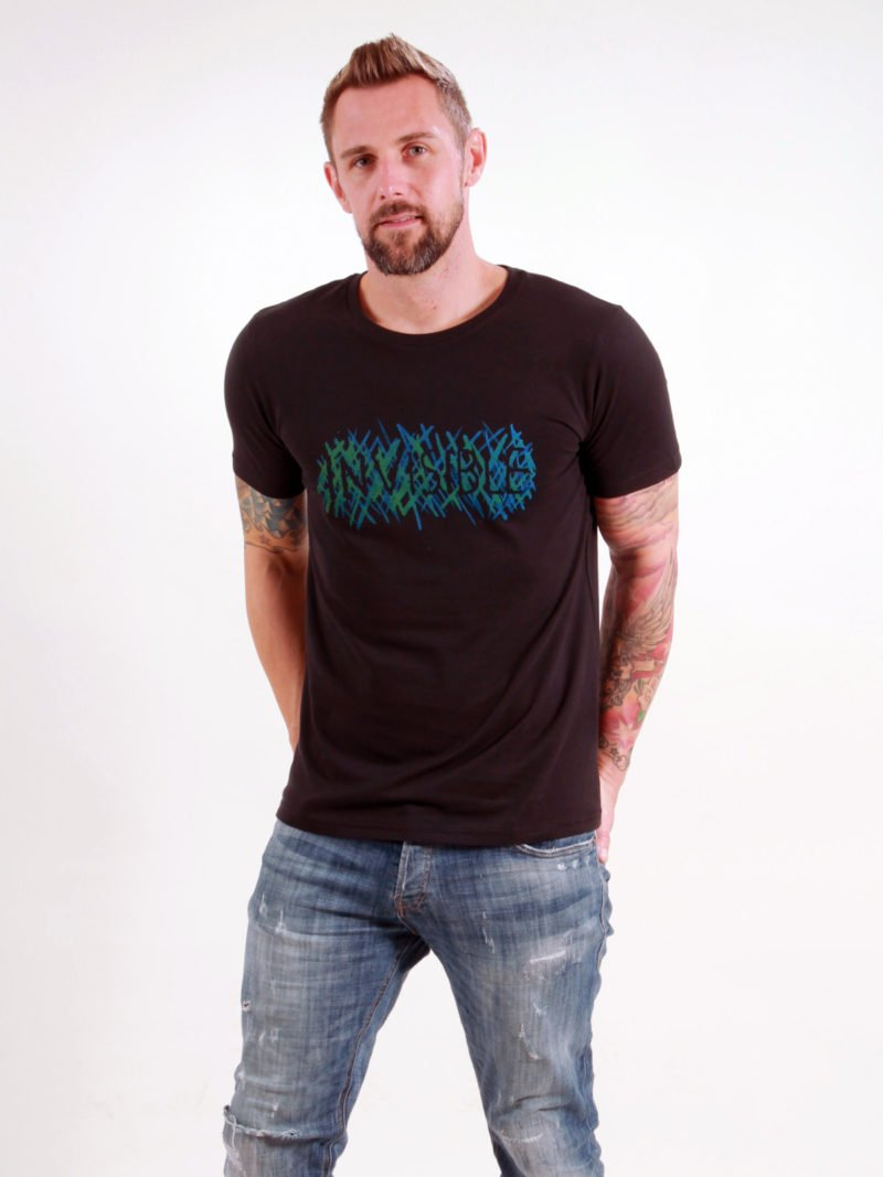 T-Shirt Man Invisible black
