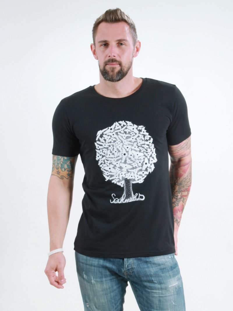 T-Shirt Man Soulmates black