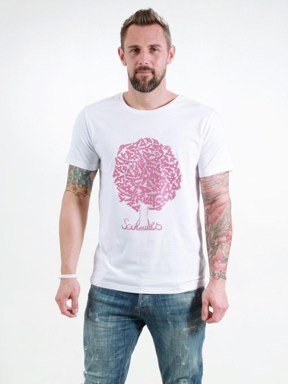 T-Shirt Man Soulmates white
