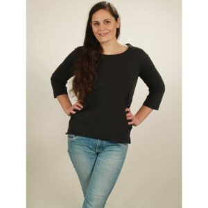 3/ longsleeve damen black