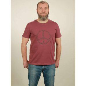 t-shirt herren peace berry