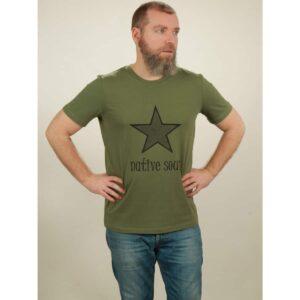 t-shirt herren star green