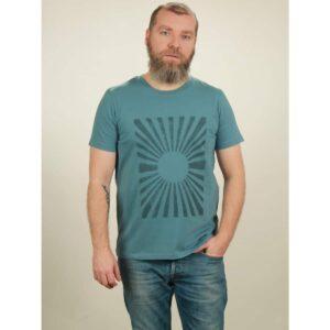 t-shirt herren sun light blue