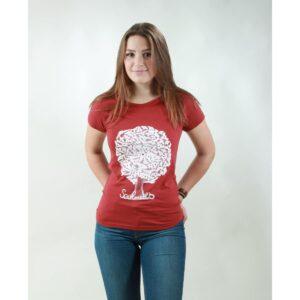 t-shirt damen soulmates red