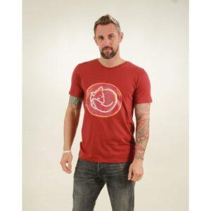 t-shirt herren fox red