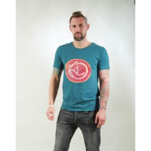 t-shirt herren fox teal