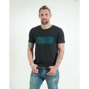 t-shirt herren invisible black