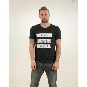 t-shirt herren light black