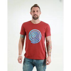 t-shirt herren loop red