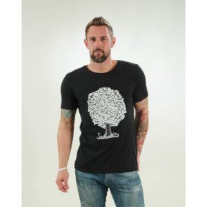 t-shirt herren soulmates black