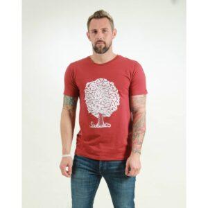 t-shirt herren soulmates red