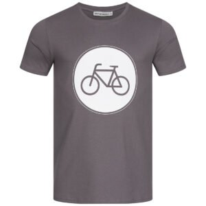 T-Shirt Herren - Bike - charcoal