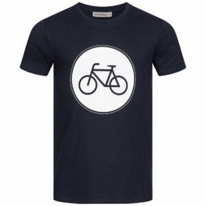 T-Shirt Herren - Bike - navy