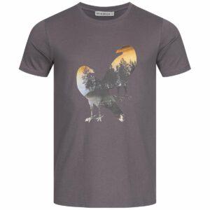T-Shirt Herren - Two Crows - charcoal