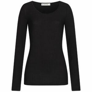 Tencel Longsleeve Damen - black